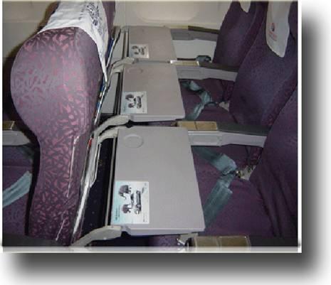 2013年厦门航空飞机小桌板广告刊例